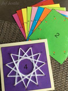 Tafelkaarten. Verbind de goede antwoorden met elkaar