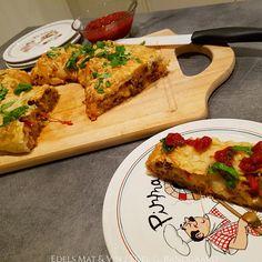 Edels Mat & Vin: Stromboli / Pizzarull med kjøttdeig ♫♫