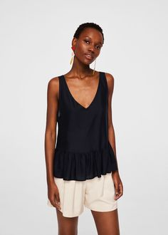 Discover the latest trends in Mango fashion, footwear and accessories. Shop the best outfits for this season at our online store. Trends, Mango, Tops, Fabric, Shirts, Canada, Fashion, New Fashion, Women's