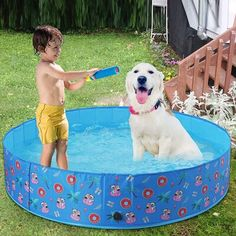 Dog Swimming Pools, Baby Pool, Bulldog Puppies For Sale, Pet Dogs, Pets, Kiddie Pool, Sliding Wardrobe, Water Pipes, Outdoor Play