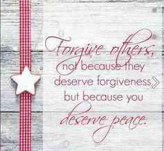 Forgiveness gives peace Happy Quotes, Great Quotes, Quotes To Live By, Inspirational Quotes, Sign Quotes, Me Quotes, Anger Quotes, Good Advice, Forgiveness