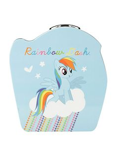 My Little Pony Rainbow Dash Metal Lunch Box | Hot Topic