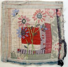 The quilts I saw at the V and A weren't all patchwork and quilting. I was particularly taken with the many fine examples of applique and the...