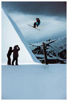 Inspiration of skiing
