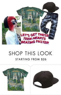 """""""teen hearts"""" by madein2001 ❤ liked on Polyvore featuring beauty and Vans"""