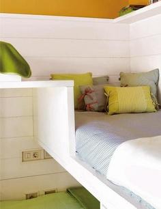 Un Dormitorio Infantil Para Dormir, Estudiar Y Jugar