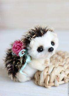 Little Po by Angelika Sidorenko Baby Animals Super Cute, Cute Stuffed Animals, Cute Little Animals, Cute Funny Animals, Cute Cats, Baby Animals Pictures, Cute Animal Photos, Cute Animal Drawings, Cute Drawings