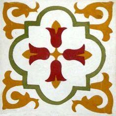 Adesivo para Azulejo Ladrilho Hidráulico Tradicional 16 peças
