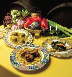 Selección de gastronomía montillana (Montilla, Córdoba) / Typical dishes from Montilla (Córdoba)