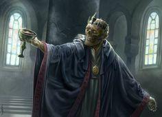 Azharkaras, Undead Emperor by Felipe Gaona