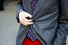 Men's holiday fashion from Bloomingdale's Holiday Suits, T Magazine, Holiday Fashion, Ny Times, Red And Blue, Personal Style, Suit Jacket, Mens Fashion, Chic