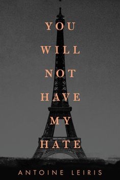 'You Will Not Have My Hate' by Antoine Leiris (in English). Borrowed it from the Copenhagen City library app (audiobook). Finished 4th April