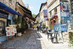 Remembering a casual walk through the city of #Tzfat