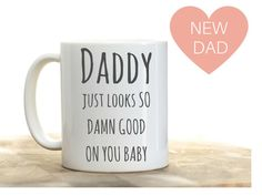 Father's Day gift for new dad pregnancy reveal to husband on father's day.