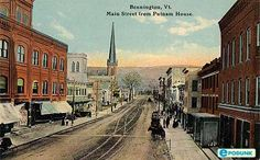 Bennington Vermont.  Cute little town in Vermont and the home of Hemmings Motor News. #Vermont