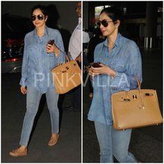 Celebrity Style,sridevi,airport,Hermès,Balmain,Tods,Sridevi Kapoor,Hermès Birkin