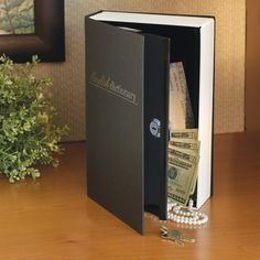 Jo - Book Safe, Hollow Book Safe, Holiday Gifts, Unusual Gifts $20