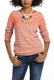http://www.anthropologie.eu/  Stacked Spots Pullover