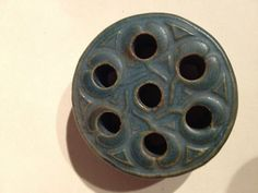 Rookwood Pottery Flower Frog Dated 1918 (03/21/2013)