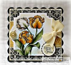 Dynamic Duos: Peonies and Tulips Stamp Set