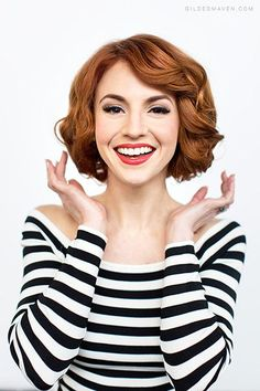 Faux Bob Tutorial Vintage Hairstyles For Long Hair Curly Hair Styles Retro Hairstyles