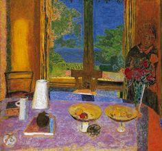 Pierre Bonnard / Dining Room on the Garden (Grande salle à manger sur le jardin) / 1934–35 / Oil on canvas