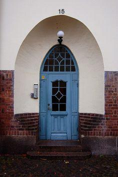 Sweden~Blue Door photo by olga s, via Flickr