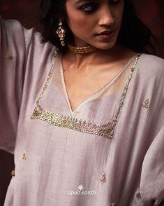 miniaturist-mastani-chanderi-ensemble - Amethyst (Set of - miniaturist-mastani-chanderi-ensemble – Amethyst (Set of Source by poonambafna - Neck Designs For Suits, Dress Neck Designs, Blouse Designs, Indian Designer Outfits, Indian Outfits, Indian Clothes, Stylish Dress Designs, Stylish Dresses, Western Dresses For Girl