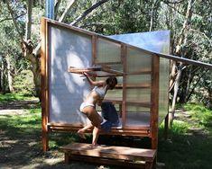 Mobile Sauna, Building A Sauna, Sauna House, Humble House, Add A Room, Sauna Design, Outdoor Sauna, Prefab Cabins, Diving Board