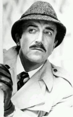 """Peter Sellers as Inspector Jacques Clouseau, the bumbling detective extraordinaire from the """"Pink Panther"""" movies."""