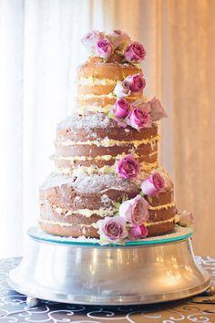 Naked Cake Vanilla and White Chocolate Mousse White Chocolate Mousse, Pretty Cakes, Wedding Cakes, Vanilla, Bride, Baking, Cake Ideas, Desserts, Naked