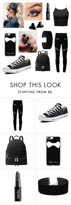"""""""Untitled #52"""" by samanthamitchell123 ❤ liked on Polyvore featuring Givenchy, Converse, MICHAEL Michael Kors, Casetify, NYX and Miss Selfridge"""