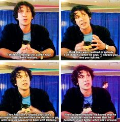 """his feelings have been realized"" bob morley about bellarke wondercon"