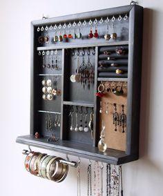 Présentoir à bijoux. Présentoir de boucles par FineArtHolders