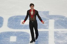 France's Brian Joubert competes during the Figure Skating Men's Free Skating Program at the Sochi 2014 Winter Olympics