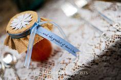 Miniture jam jar wedding favors...it's a good thing!