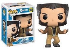 The adamantium claws are out and Logan is ready for a fight! Dressed in his casual clothing, the X-Men also known as Wolverine joins the ranks of Pop! Measuring 3 tall, the X-Men Logan Pop! Vinyl Figure comes packaged in a window display box. Funko Pop Marvel, Marvel Pop Vinyl, Marvel X, Logan Wolverine, Wolverine Movie, Logan Xmen, Marvel Wolverine, Funko Pop Toys, Funko Pop Vinyl