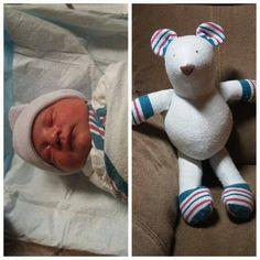 Newborns hospital blanket diy