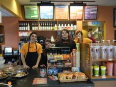 Biggby Coffee Shop - Right down the street from campus!