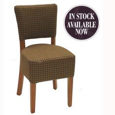 Luigi Comfy Padded Seat and Back Dining Chair | Pub chairs | Restaurant | Club house | Bars | Coffee shops | Cafe furniture