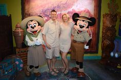 Meet Mickey & Minnie Mouse on safari in Disney's Animal Kingdom with Sean and Cassandra Rox:  https://www.roxbeachweddings.com/honeymoon-destination-reviews/honeymoon-destination-review/