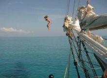 Ready for some adventure? Jump into fun be booking your Tall Ship Adventure today!