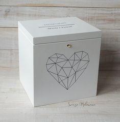 Znalezione obrazy dla zapytania drewniane pudełko ślub