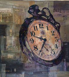 Textiles by Sue de Vanny, Australian mixed media artist.