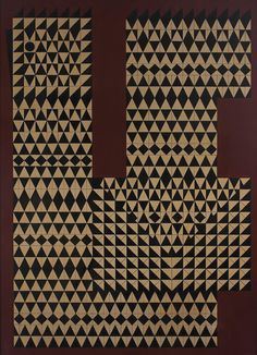Joaquim Tenreiro; 'Galo,' Guache on Cardboard, c1970.