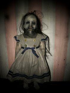 Agnes creepy doll