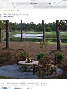 This will be our fire pit..perfect..