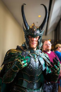 Awesome Loki cosplay