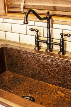 Jumbo Single Well Copper Standard Kitchen Sink Coppersinksonline Price 1 350 00 From Www Recipes To Cook Pinterest