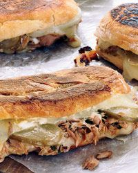 Oregon Tuna Melts with balsamic vinaigrette in place of mayonnaise.  I have to try this one!